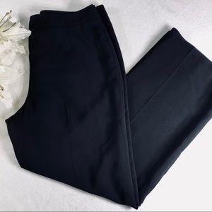 Le Suit Vintage Petite Black Lined High Waist Pant